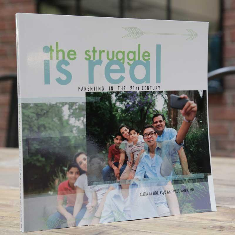 the struggle is real modern parenting alicia la hoz image book
