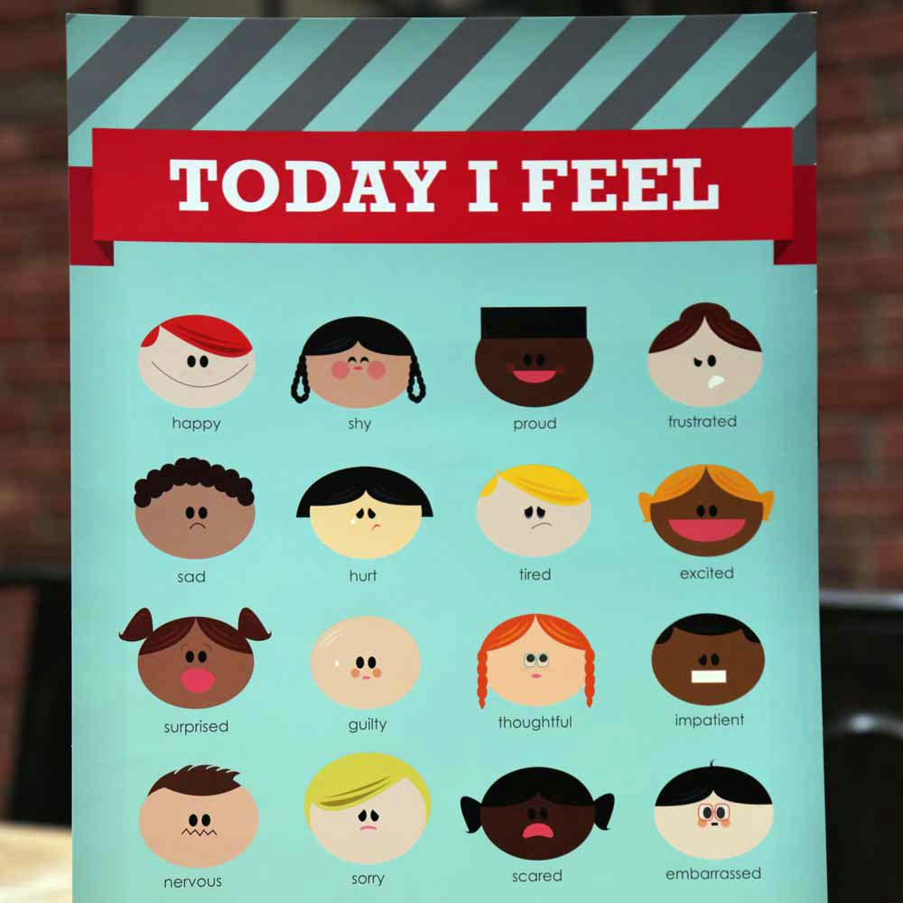 today i feel poster emotions